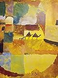 1art1 60516 Paul Klee - Zwei Kamele Und EIN Esel, 1919