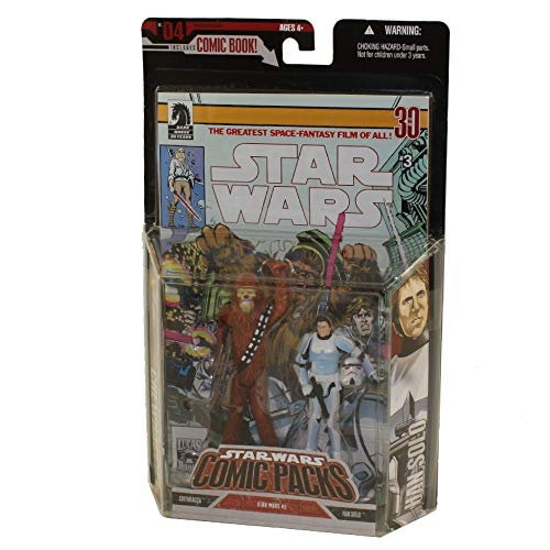 Star Wars Comic Pack Chewbacca & Han Solo 2006 - Expanded Universe Hasbro