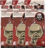 Plasticolor Star Wars Stormtrooper Car Accessories - Stormtrooper Air Freshener Wiggler (3)