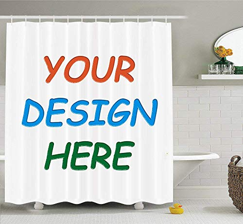 KOTOM Professional Custom Shower Curtain (60x70'' Shower Curtain)