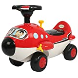 Baybee Unisex Boomer Zoomer Ride On With Music (Red)