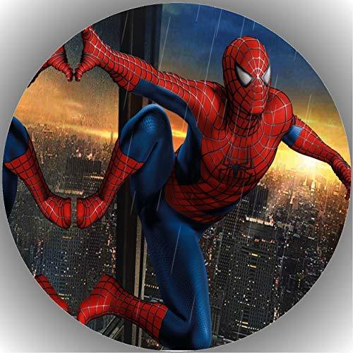 Fondant Tortenaufleger Tortenbild Geburtstag Spiderman T32