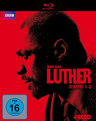 Luther - Staffel 1-3 [Blu-ray]