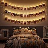LED Fotoclips Lichterkette - 6 Meter | Mit Netzstecker