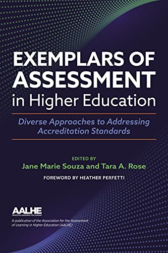 Compare Textbook Prices for Exemplars of Assessment in Higher Education: Diverse Approaches to Addressing Accreditation Standards  ISBN 9781642672497 by Souza PhD, Jane Marie,Rose PhD, Tara A.