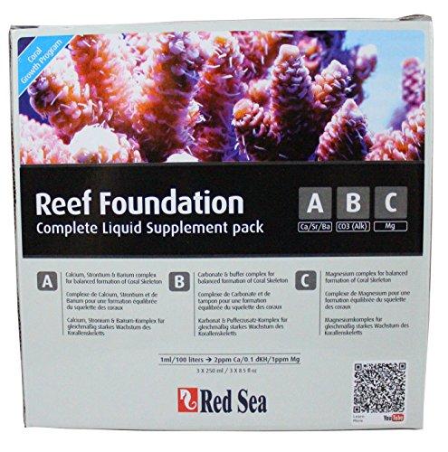 Red Sea R22006 Reef Foundation A B C - Juego Completo de Base para corales