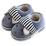 Niños Pequeños Niños Chicas Lindas Zapatillas De Animales Botas Botines Zapatos Suela De Goma...