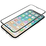 ThanoTech E2E Glass for iPhone X Black - Seamless, Thin, Full Coverage, 0.33 mm Thick Screen Protector