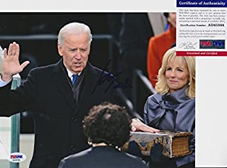 Joe Biden Vice President Signed Autograph 8x10 Photo PSA/DNA COA #1