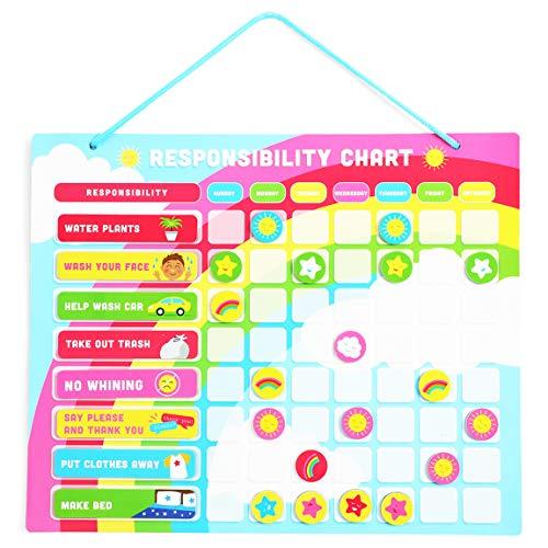 Magnetische Verantwortungskarte für Kinder (40,6 x 33 cm)