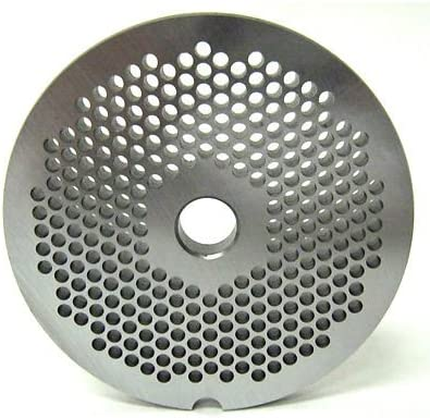 Smokehouse Chef size Animer and price revision #22 x 1 8 Grinder Plate Meat D mm High order 3 holes