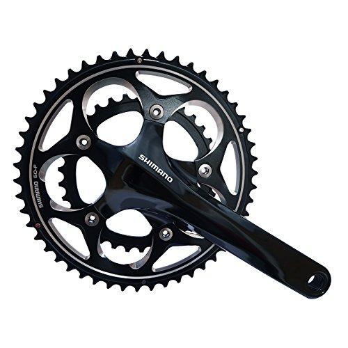 Shimano Fc-r565double de vélo de route Pédalier 50x 34dents 109-speed 175mm Noir