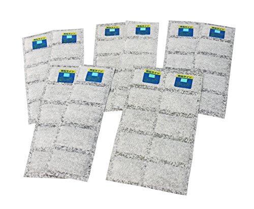 強力 除湿・消臭 シートシューズ用 繰り返し使えるから経済的 (お知らせセンサー付)2枚入×5セット(5足分)