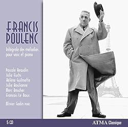 Poulenc : Intégrales des mélodies pour voix et piano
