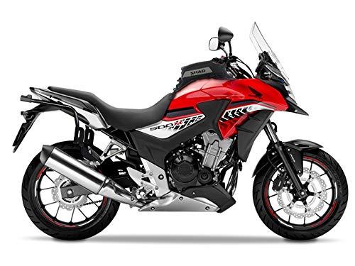 Shad D0B36H0CX56IF-IN Honda CB500X 13–17 SH36 Seitenkoffer, 3P Seitenhalterung und Innentaschen
