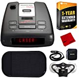 Best Radar Detectors - Escort Passport S55 Radar/Laser Detector w/Car Mat, 1-Year Review
