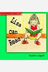Early Readers : Lisa can Read : children, Early reader books level 1. Easy reader book. Beginner reading books level 1 (Step into reading book series for early readers : childrens books) Kindle Edition
