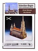 Schreiber-Bogen Card Modelling Ulm Minster