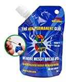 Le Glue Temporary Glue – Non-Permanent Adhesive for Plastic Building Blocks, No More Messy Break-Ups – Safe, Non-Toxic Formula – As Seen on Shark Tank, Created for Kids, by a Kid