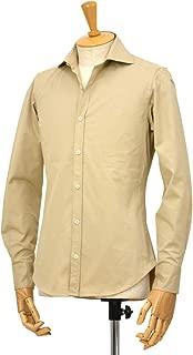 [Giannetto【ジャンネット】]ツイルシャツ SLIMFIT 9G11337L81 002 コットン ベージュ