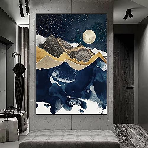 Invierno de medianoche /DIY 5D Diamante Pintura Kits /Juego de Taladro Completo Artístico para Adultos o Niños /decoracion pared salon / Sin marco