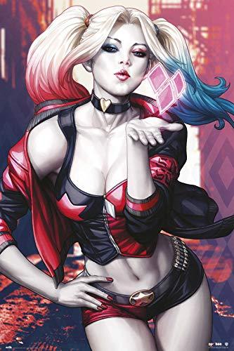 Poster Dc Harley Quinn Kiss