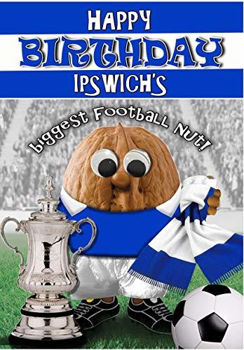 Birthday Card – Ipswich Town - Football Sports Nut