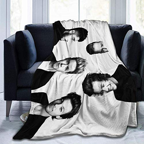 1D-One Direction Blanket Micro Fleece Bed Mantas Super Soft Cozy Luxury Couch Blanket 50 * 40in