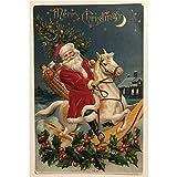 5D completo de perforación de diamante Pintura Navidad de Santa Claus por los kits del número, de la pintura con diamantes Artes del bordado del arte de DIY Set Artes Decoraciones 12x16 pulgadas ZSH 9