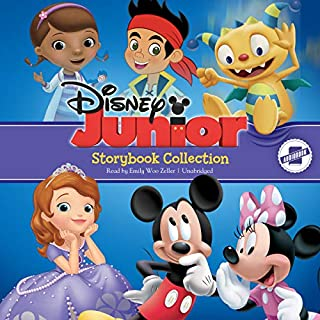 Disney Junior Storybook Collection     Sofia the First, Doc McStuffins, Jake and the Never Land Pirates, Mickey/Minnie, Henry Hugglemonster              By:                                                                                                                                 Disney Book Group                               Narrated by:                                                                                                                                 Emily Woo Zeller                      Length: 1 hr and 54 mins     Not rated yet     Overall 0.0