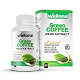 Wellona Pure Green Coffee Beans Extract Fat Burner and Weight Loss product for Men and Women  ...