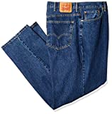 Levi's Men's Big and Tall Big & Tall 560 Comfort Fit Jean, Dark Stonewash, 48W x 38L