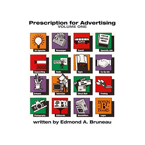 Prescription for Advertising Volume One audiobook cover art