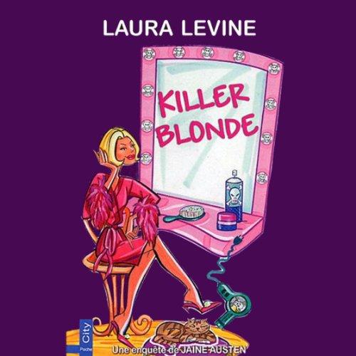 Killer Blonde audiobook cover art