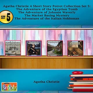 Agatha Christie 4 Short Story Poirot Collection, Set 5 audiobook cover art