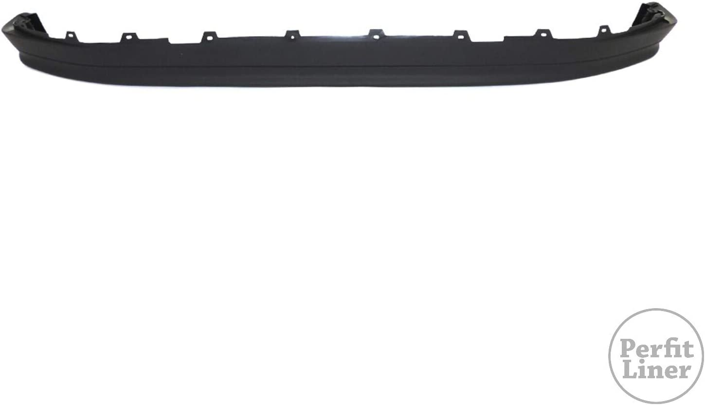 Perfit Liner New Ranking TOP13 Replacement Las Vegas Mall Parts Black Valance Front Bumper W