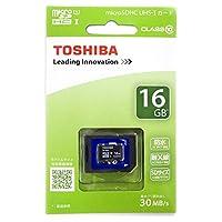 東芝 microSDHCメモリーカード 16GB Class10 UHS-I MUB016GX