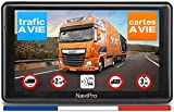 GPS Poids Lourds NaviPro 7 Pouces GPS pour Camion, Bus, Camping Car, Europe + Maroc A Vie INFO TRAFIC