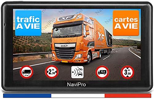 GPS Poids Lourds 7 Pouces Camion Bus Camping Car Europe Gratuite A Vie INFO TRAFIC