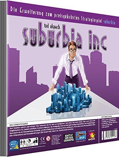 Lookout Games 22160069 22160069-Suburbia INC-Erweiterung Spiel