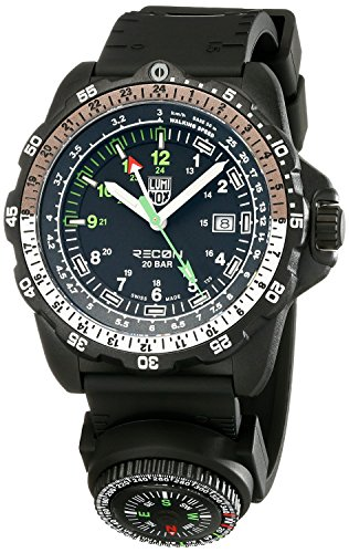 Luminox Men's 8831.KM Recon NAV Analog Display Analog Quartz Black Watch