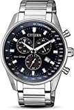 Citizen Herren Chronograph Quarz Uhr mit Edelstahl Armband AT2390-82L