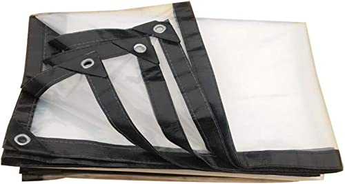 KYCD Bache Transparente étanche pour Tente de Sol et remorque - 2 x 8 m, 9x24ft 3x8m
