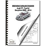 Audi TT, Typ 8J (06-14) 4-Zyl. 2,0l Benzinmotor 265/272 PS - Reparaturanleitung