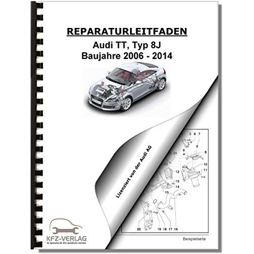 Audi TT, Typ 8J (06-14) Elektrische Anlage Elektrik Systeme - Reparaturanleitung