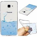 Funluna Coque Galaxy A3 2016, Ultra Mince Transparente TPU Doux Silicone Étui Housse de Protection...