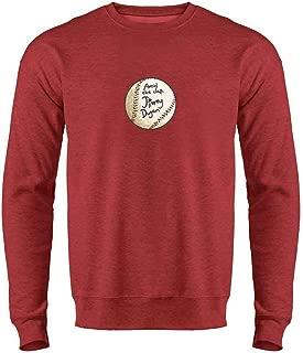Avoid The Clap Jimmy Dugan Baseball Autograph Mens Fleece Crew Sweatshirt