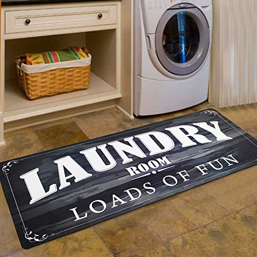Laundry Room Floor Mat For Wash Room Non Skid Rubber Waterproof