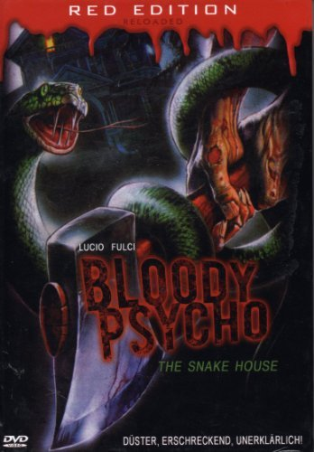 BLOODY PSYCHO:THE SNAKE HOUSE - Hardbox - by Lucio Fulci