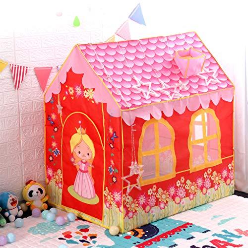 Speeltent Voor Kinderen, Binnenspeeltuin Speeltent Voor Kinderen Roze Meiden Princess Tent Draagbare Opvouwbare Pop-up Tent Speelhuis Kinderen Meisjes Jongens Kinderen Buiten- En Binnenspellen